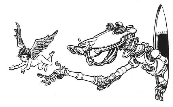 Robot-&-elfette